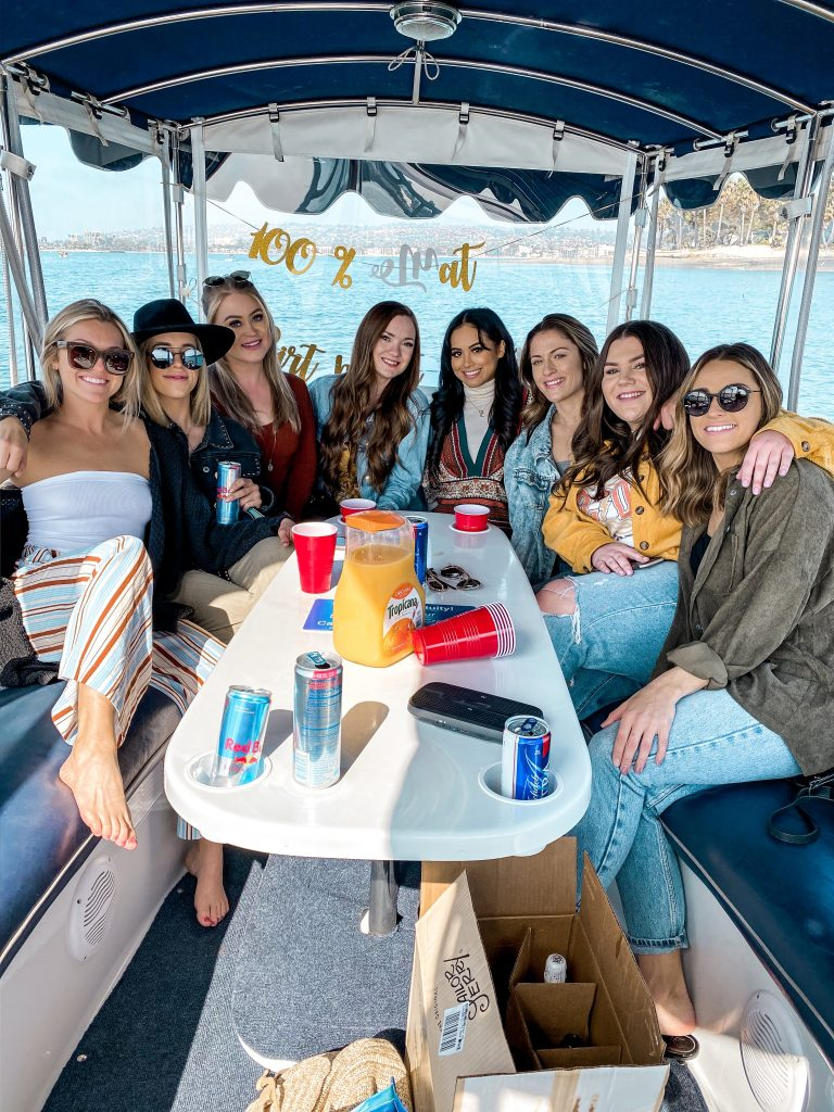 Pontoon Boat Rental in San Diego