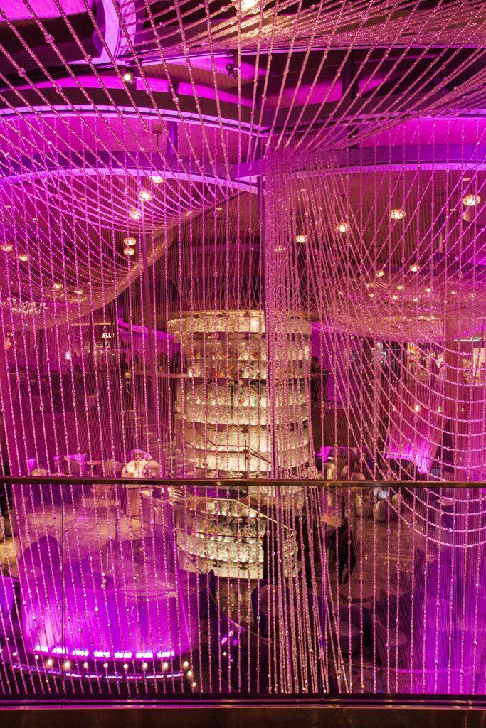Chandelier Bar at the Cosmopolitan Hotel in Las Vegas