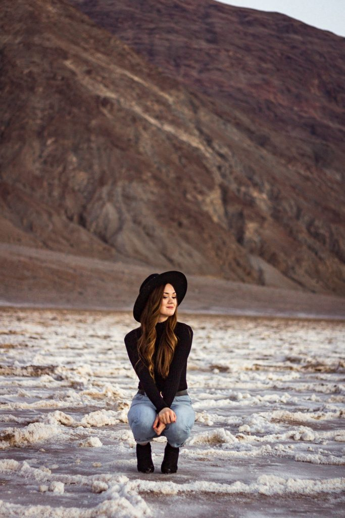 Badwater Basin Salt Flats in Death Valley National Park