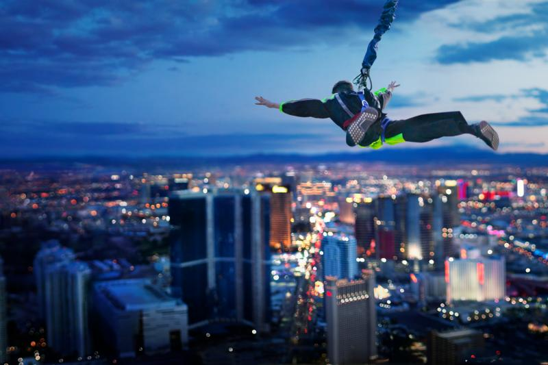 Stratosphere Thrill Rides in Las Vegas