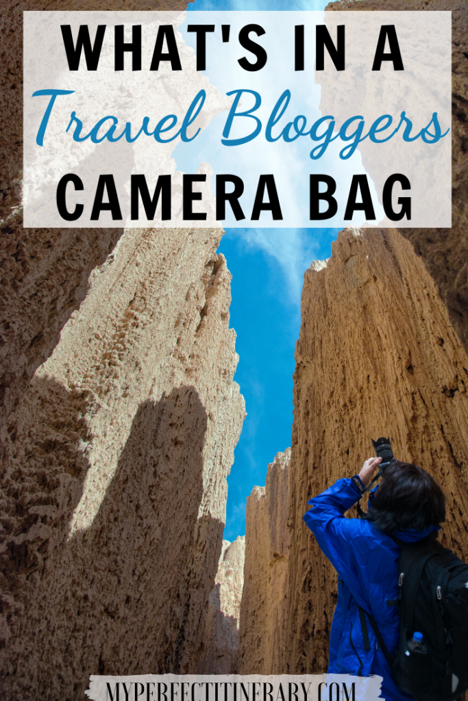 What's in a travel bloggers camera bag