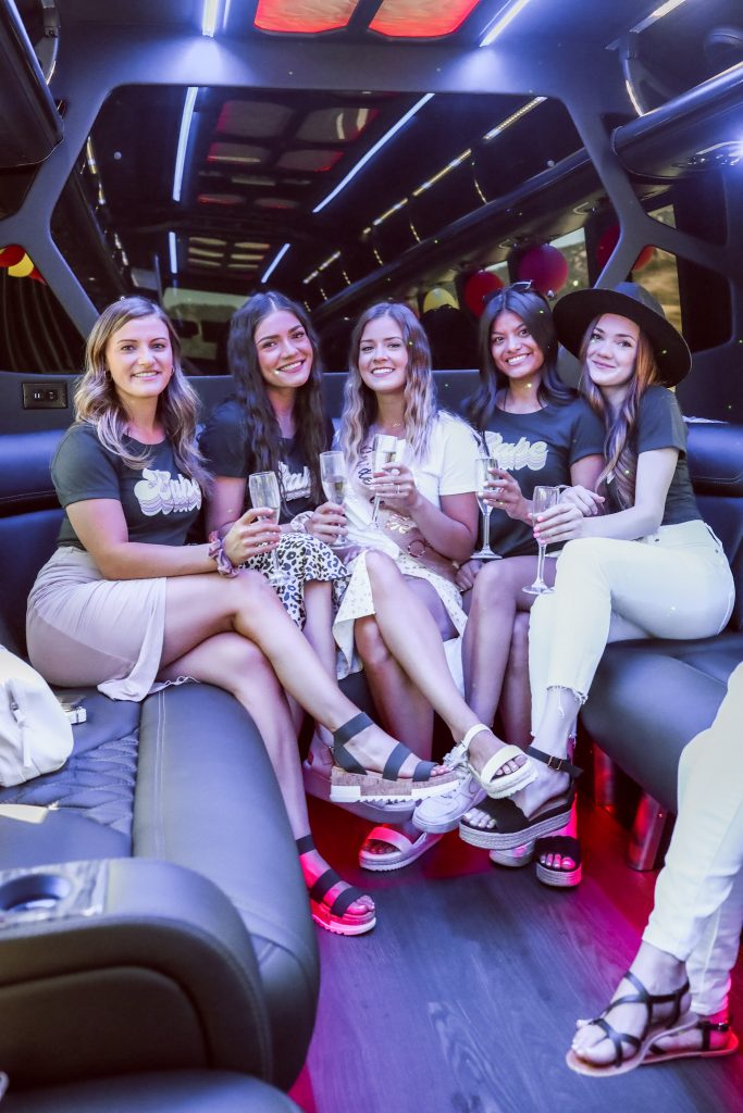 Party Bus for Temecula wine tasting for Bachelorette Party