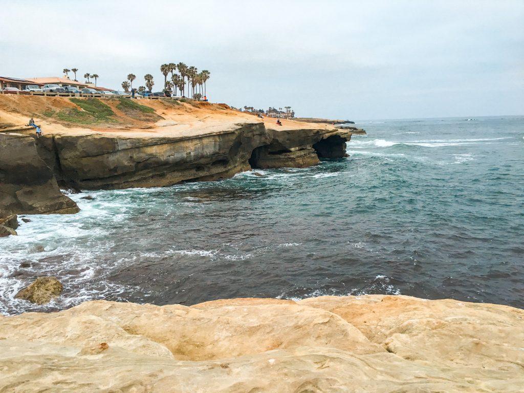 Sunset Cliffs Natural Park in San Diego