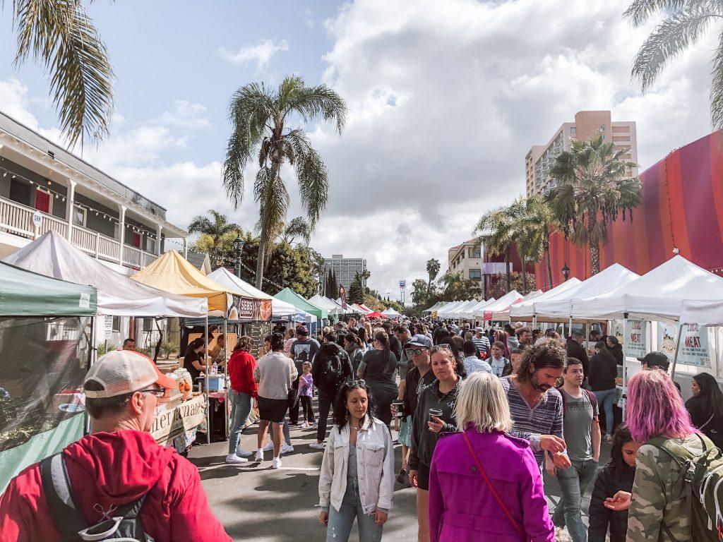 Farmers Market in Little Italy, San Diego