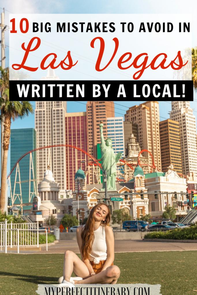 10 Mistakes to Avoid in Las Vegas