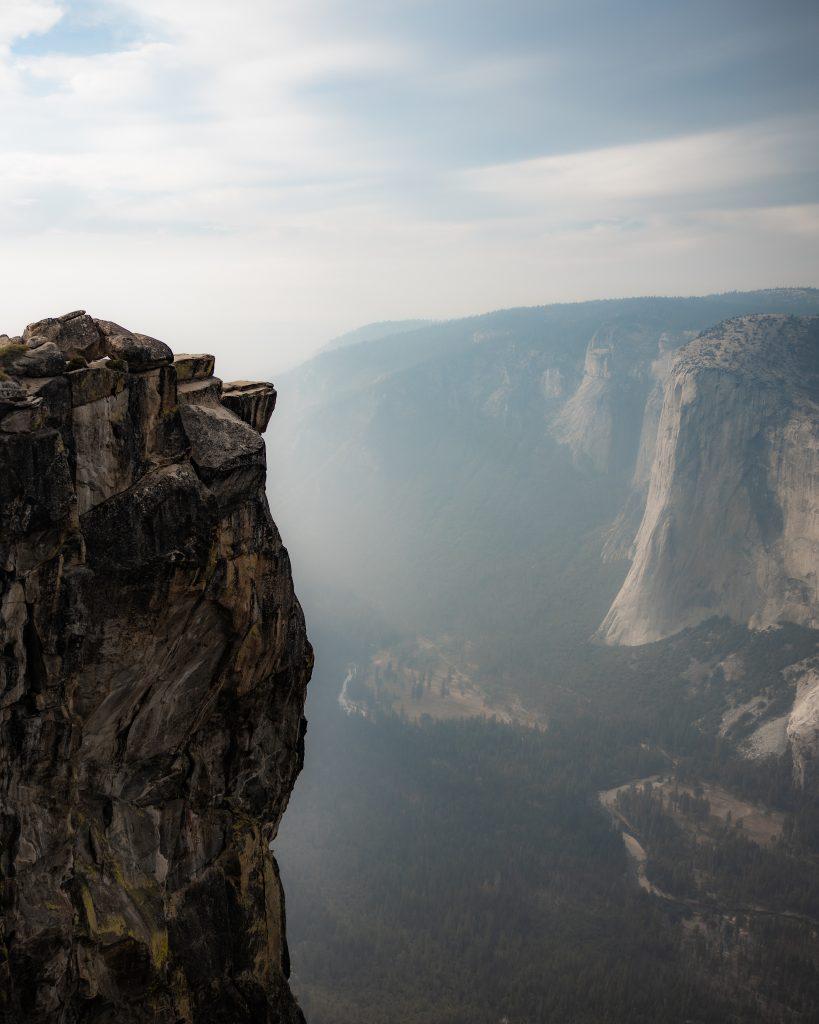 Taft Point at Yosemite National Park