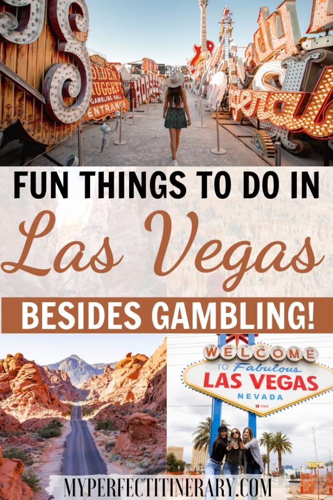 Things to do in Vegas Besides Gambling