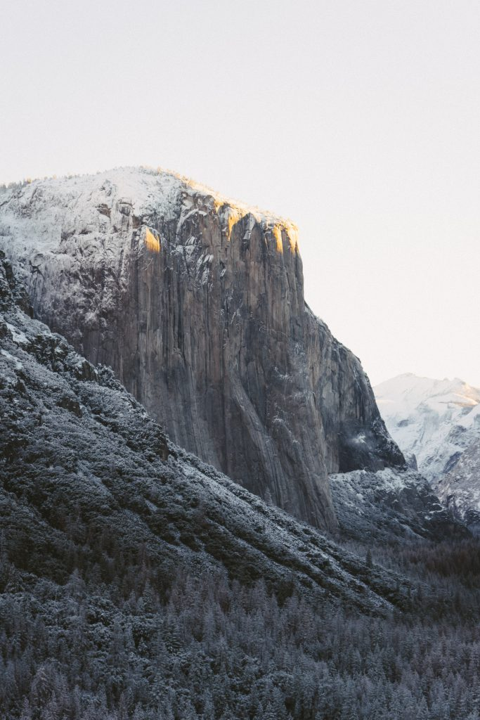 Yosemite National Park in the Winter