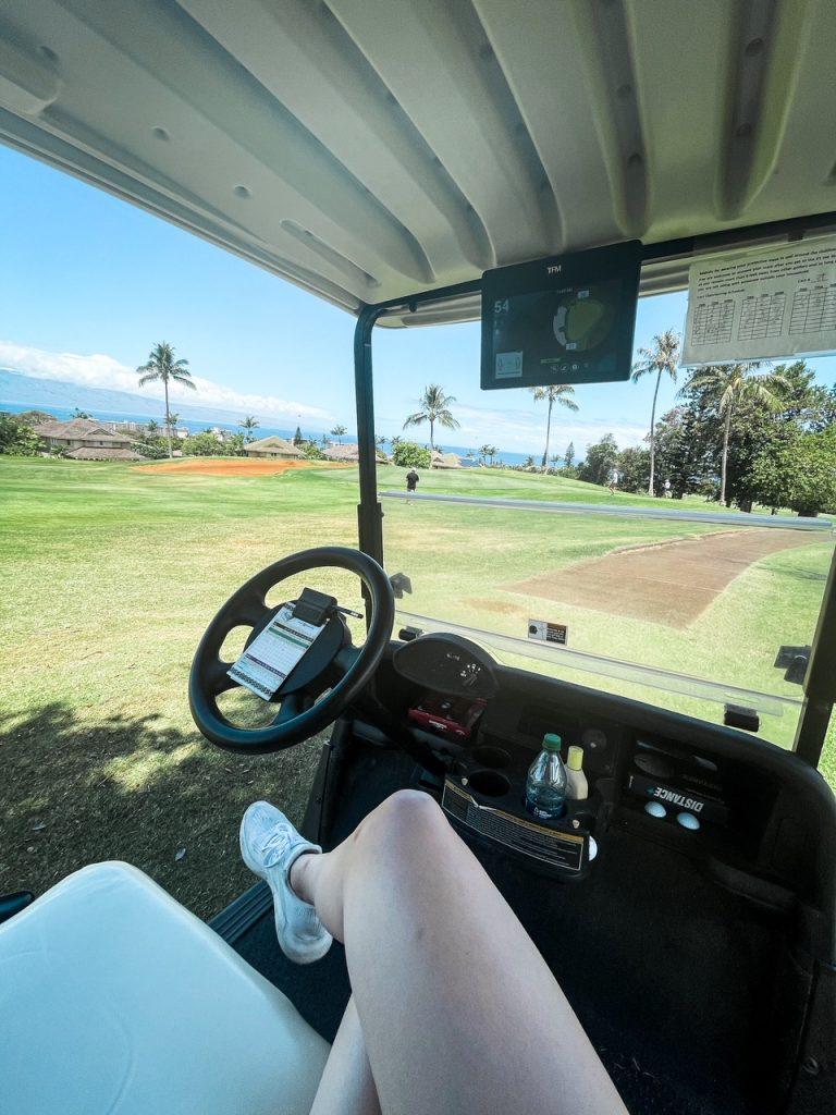 Golf in Kaanapali