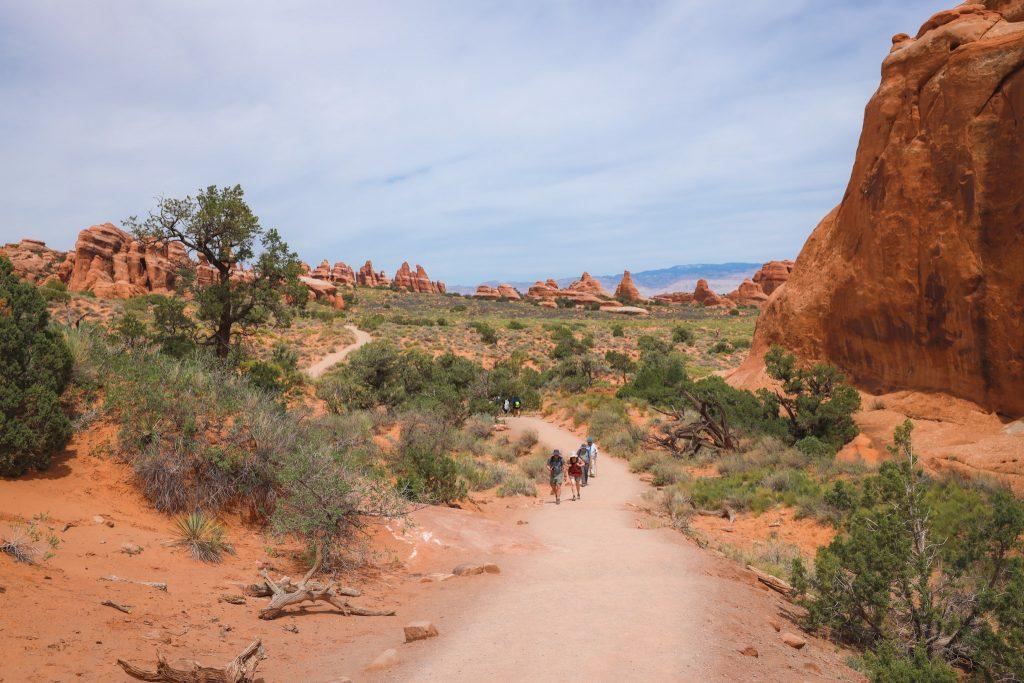Devil's Garden Loop Trail in Arches National Park