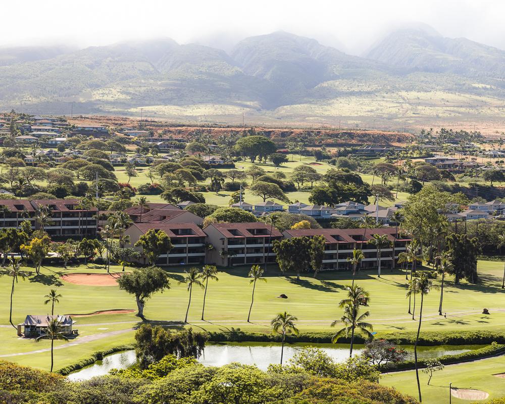 Golfing in Kaanapali Beach Maui