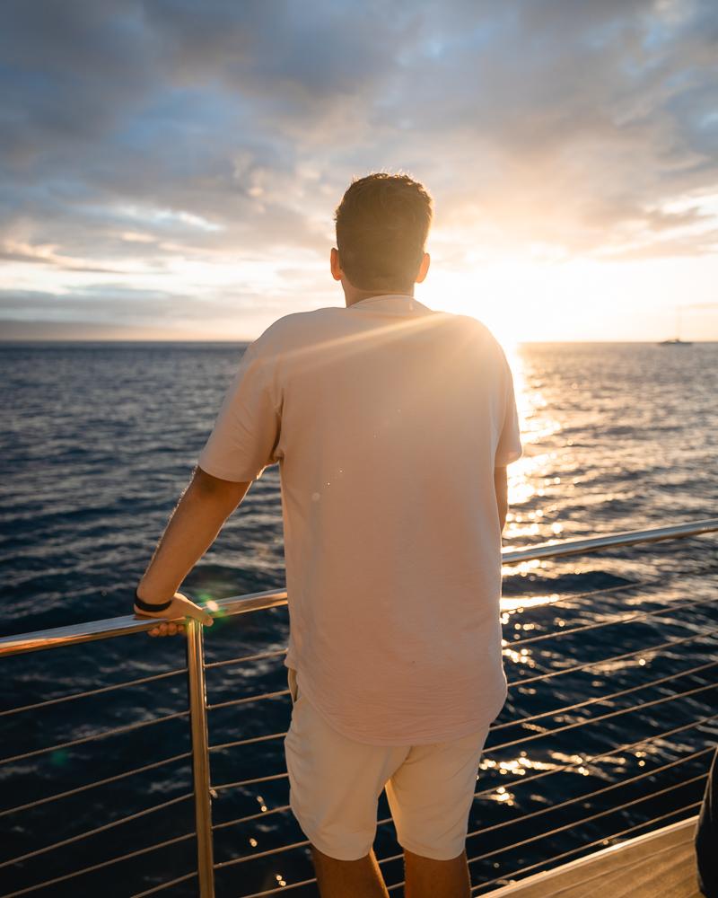 Catamaran Sunset Cruise on Kaanapali Beach
