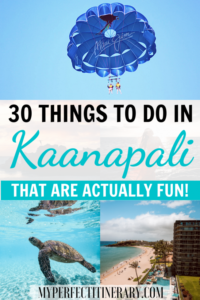 Things to do in Kaanapali