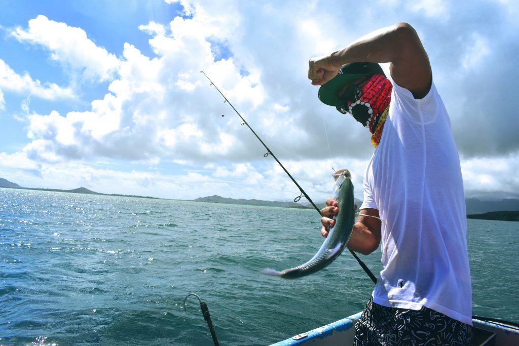 Fishing in Maui Hawaii